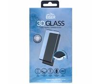 Eiger 3D Tempered Glass Screenprotector Schwarz Galaxy S10 Plus
