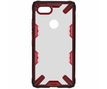 Ringke Fushion X Case Rot für das Google Pixel 3 XL