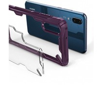 Ringke Fushion X Case Lila für das Huawei P20