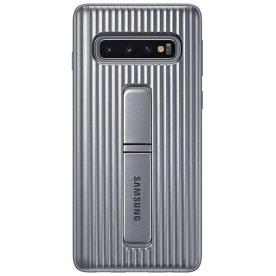 Samsung Protective Standing Cover Silber für das Galaxy S10