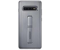 Samsung Protect Standing Cover Silber für das Galaxy S10 Plus
