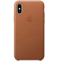 Apple Leder-Case Braun für das iPhone Xs / X