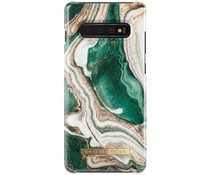iDeal of Sweden Golden Jade Marble Fashion Back Case Samsung Galaxy S10 Plus