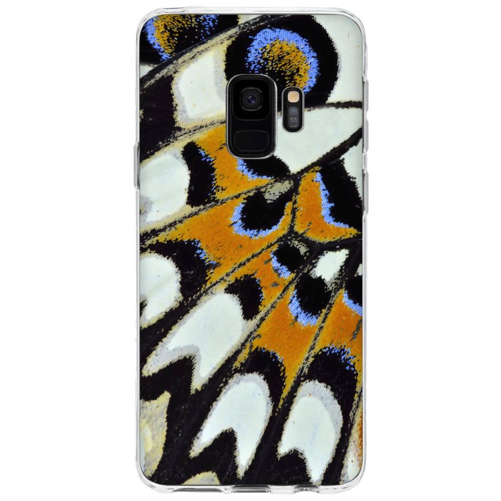 Schmetterling Design Silikonhülle für das Samsung Galaxy S9