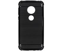 Xtreme Silikon-Case Schwarz für das Motorola Moto G7 Play