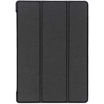 Stilvolles Bookcover Schwarz für das Lenovo Tab E10