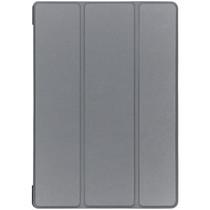 Stilvolles Bookcover Grau für das Lenovo Tab E10