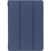 Stilvolles Bookcover Dunkelblau für das Lenovo Tab E10