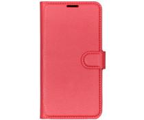 Litchi Buchtyp-Hülle Rot für das Huawei Y7 (2019)