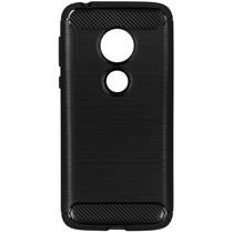 Brushed TPU Case Schwarz für das Motorola Moto G7 Play