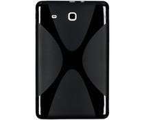 X-line Tablet Hülle Schwarz für das Samsung Galaxy Tab E 9.6