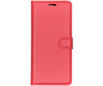 Litchi Booktype Hülle Rot für das Sony Xperia 10 Plus