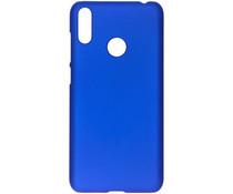 Unifarbene Hardcase-Hülle Blau für das Huawei Y7 (2019)
