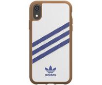 adidas Originals Moulded Case Samba Weiß / Blau für das iPhone Xr