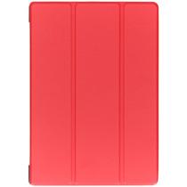 Stilvolles Bookcover Rot für das Lenovo Tab E10