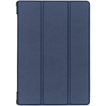 Stilvolles Bookcover Dunkelblau für das Lenovo Tab M10