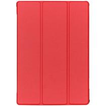 Stilvolles Bookcover Rot für das Lenovo Tab M10