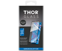 THOR Full Screen Protector + Easy Apply Frame Schwarz Galaxy S10e