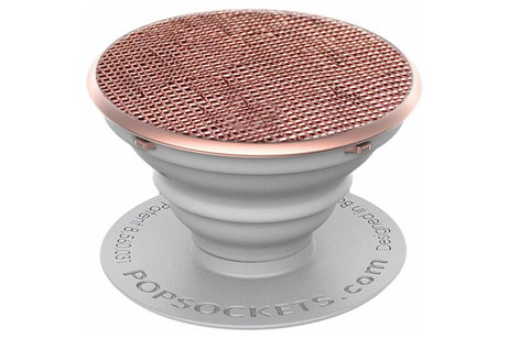PopSockets PopSocket - Roségolg Metallic Saffiano