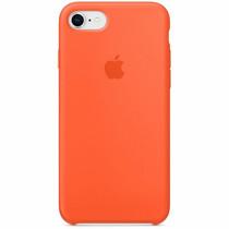 Apple Silikon-Case Spicy Orange für das iPhone SE (2020) / 8 / 7