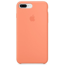 Apple Silikon-Case Peach für das iPhone 8 Plus / 7 Plus