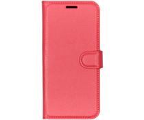 Litchi Buchtyp-Hülle Rot für das Nokia 9 PureView