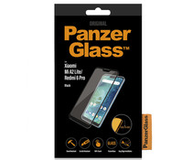 PanzerGlass Premium Displayschutzfolie Schwarz für das Xiaomi Mi A2 Lite