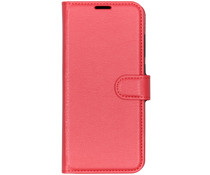 Litchi Booktype Hülle Rot für das Xiaomi Mi 9