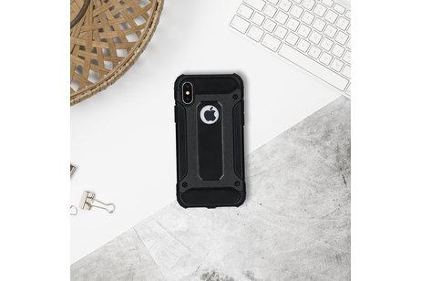 Huawei Mate 10 Lite hülle - Schwarzes Rugged Xtreme Case