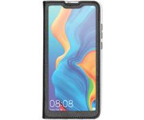 Flip Cover mit Fenster Schwarz für das Huawei P30 Lite