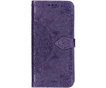 Mandala Booktype-Hülle Violett für das Sony Xperia L3