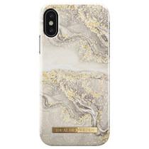 iDeal of Sweden Golden Blush Marble Fashion Back Case für das iPhone Xs / X