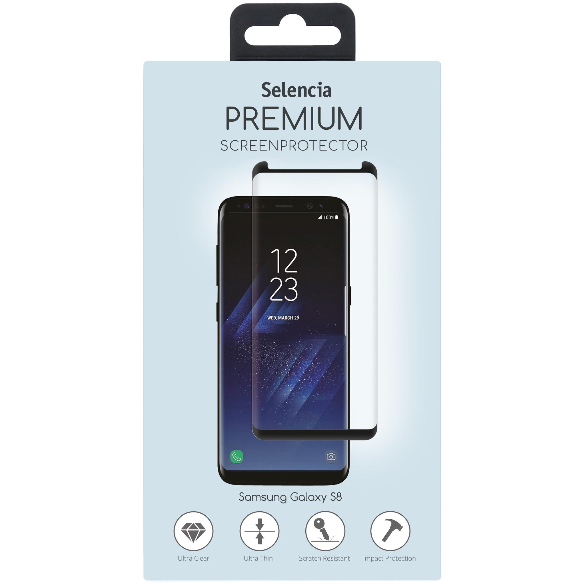 Selencia Premium Screen Protector gehärtetem Glas Samsung Galaxy S8