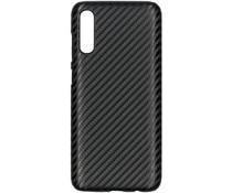 Carbon Look Hardcase-Hülle Schwarz Samsung Galaxy A70