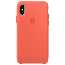 Apple Silikon-Case Nectarine für das iPhone Xs / X