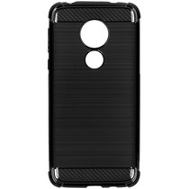 Xtreme Silikon-Case Schwarz für das Motorola Moto G7 Power