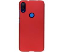 Unifarbene Hardcase-Hülle Rot für das Xiaomi Mi Play