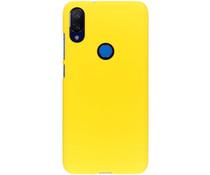 Unifarbene Hardcase-Hülle Gelb für das Xiaomi Mi Play