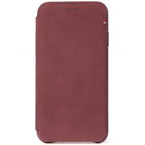 Decoded Leather Slim Wallet Violett für das iPhone Xs Max
