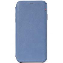 Decoded Leather Slim Wallet Blau für das iPhone Xs Max