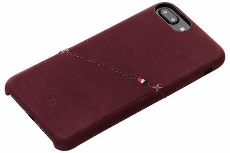 Decoded Leder Snap On Etui Rot für das iPhone 8 Plus / 7 Plus / 6(s) Plus