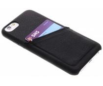 Decoded Schwarzes Leder Back Cover für das iPhone 8 / 7 / 6s / 6