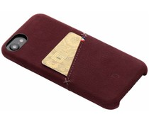 Decoded Leder Snap On Etui Rot für iPhone 8 / 7 / 6 / 6s