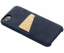 Decoded Leder Snap On Etui Blau für iPhone 8 / 7 / 6 / 6s