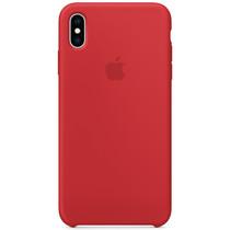 Apple Silikon-Case Rot für das iPhone X