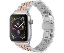 Edelstahl-Uhrenarmband Roségold Apple Watch 44 mm / 42 mm