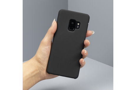 LG G7 Fit hülle - Unifarbene Hardcase-Hülle Schwarz für