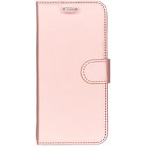Accezz Wallet TPU Booklet für das Samsung Galaxy S7 Edge - Roségold
