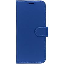 Accezz Blaues Wallet TPU Booklet für das Samsung Galaxy S8 Plus