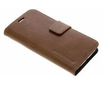 dbramante1928 Copenhagen Book Case Braun für das Samsung Galaxy S6